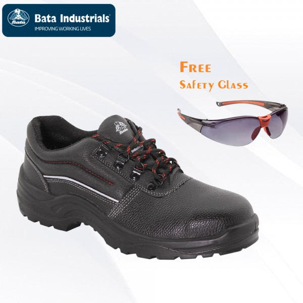 Paket Promo Bata Industrials - Bora Free Safety Glass Clear/Dark Lens