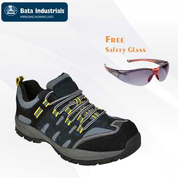 Paket Promo Bata Industrials - Bickz 705 Free Safety Glass Clear/Dark Lens