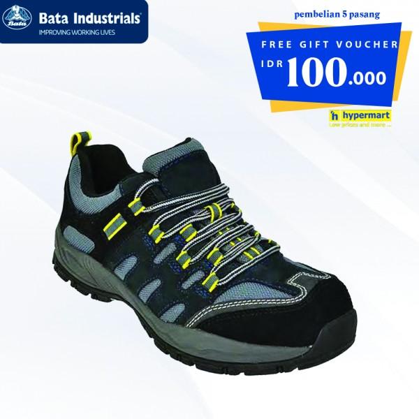 Buy 5 Pair Bata Industrials - Bickz 705  Get Free Voucher Hypermart