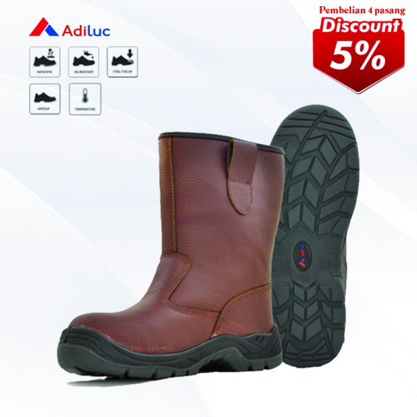 Buy 4 Pairs Adiluc Safety Shoes - Athena Get Disc 5%