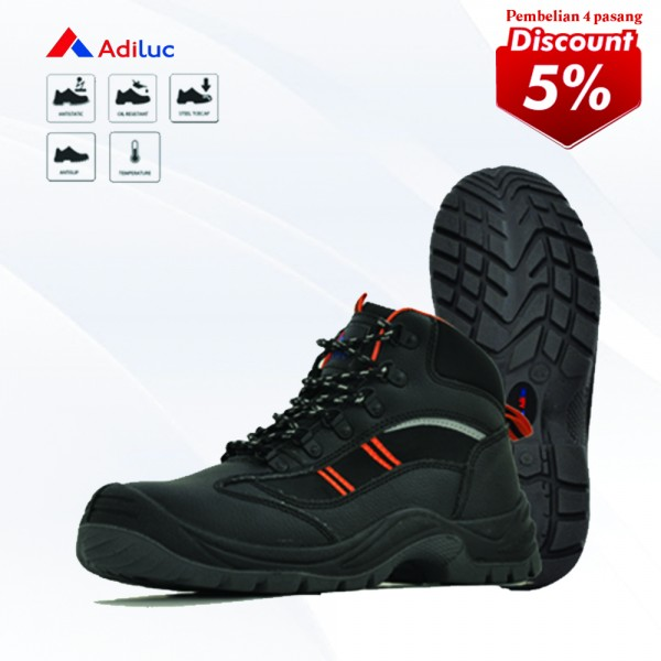 Buy 4 Pairs Adiluc Safety Shoes - Olympus Get Disc 5%