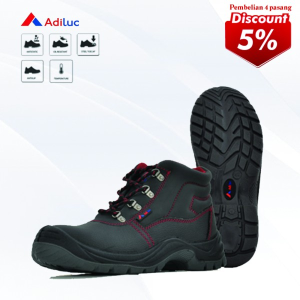 Buy 4 Pairs Adiluc Safety Shoes - Apollo Get Disc 5%