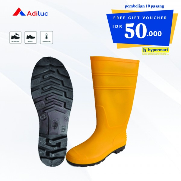 Buy 10 Pairs - Sungkai Boot Safety Shoes Free Voucher Hypermart