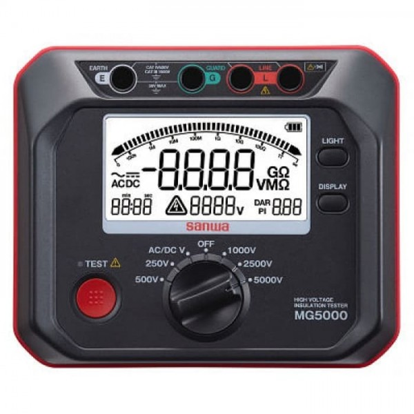 Sanwa MG5000 Digital Insulation Tester/Digital type
