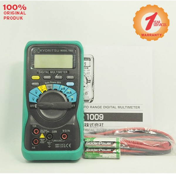 Kyoritsu MODEL 1009 Digital Multimeters