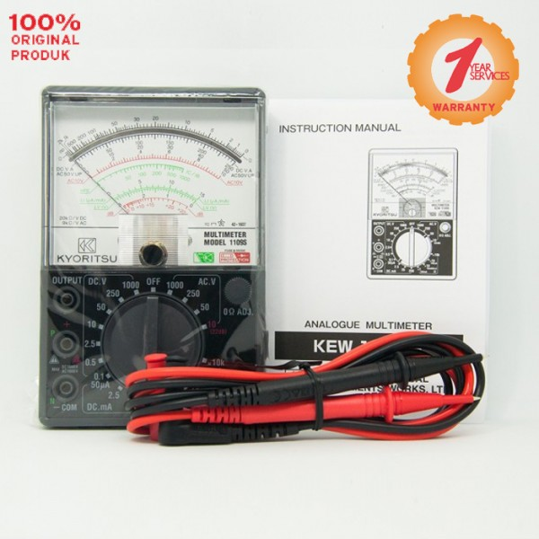 Kyoritsu KEW 1109S Analogue Multimeters