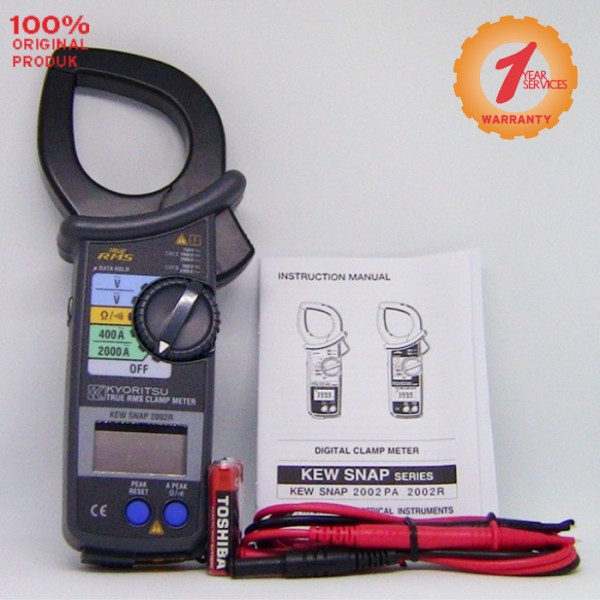 Kyoritsu MODEL 2002R AC Digital Clamp Meters