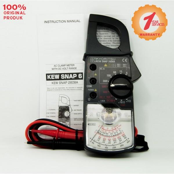 Kyoritsu MODEL 2608A AC Analogue Clamp Meters