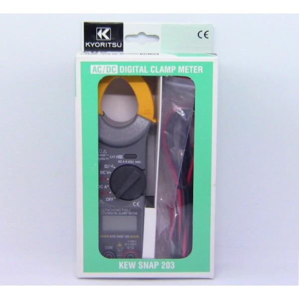 Kyoritsu KT 203 AC/DC Digital Clamp Meters