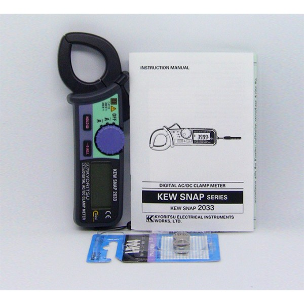 Kyoritsu MODEL 2033 AC/DC Digital Clamp Meters