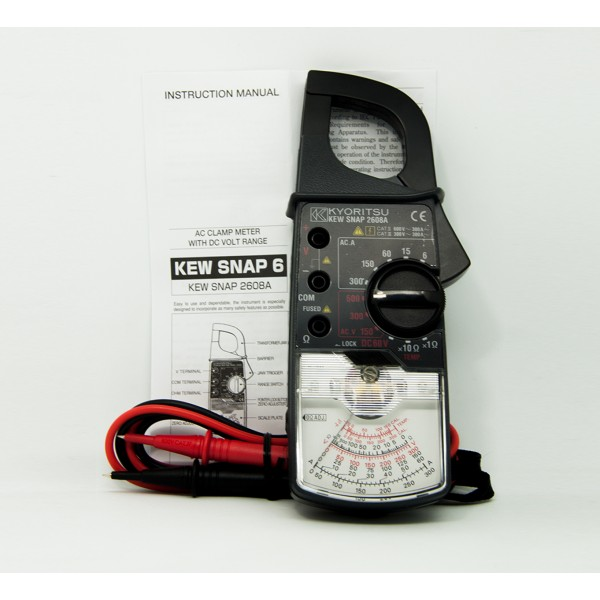 Kyoritsu MODEL 2608A AC Analogue Clamp Meters