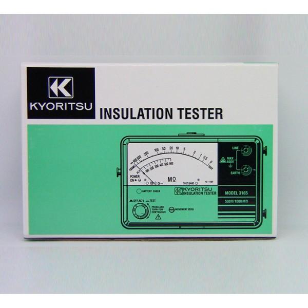 Kyoritsu MODEL 3165 Analogue Insulation Testers