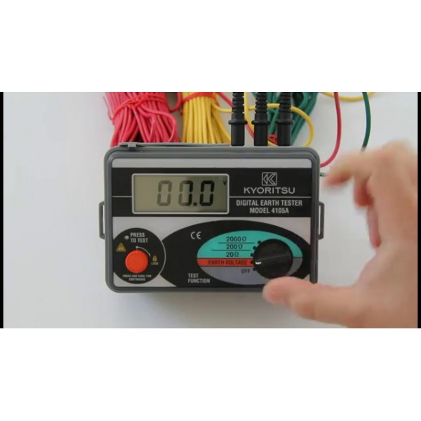 Kyoritsu KEW 4105A Earth Tester