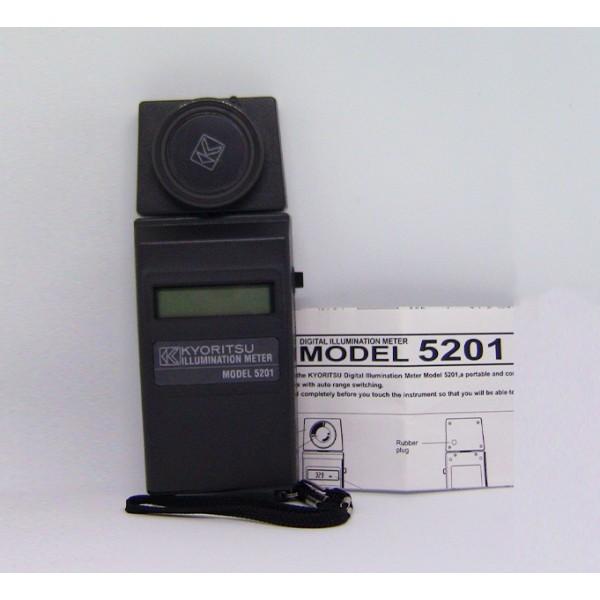 Kyoritsu MODEL 5201Illuminometer