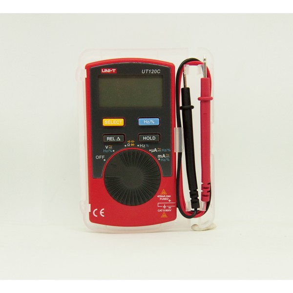 Uni-T UT120C Pocket Size Digital Multimeter
