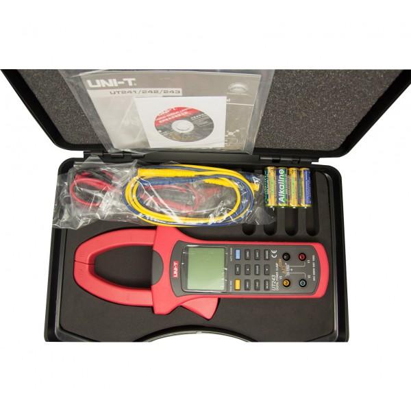 Uni-T UT243 Power and Harmonics Clamp Meter